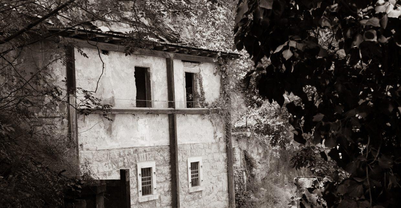 Altes Gebäude am Gardasee